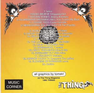 The Thing from Another World Vol 1 (back)