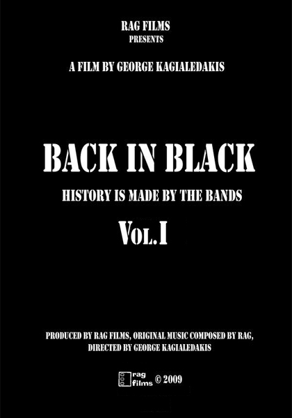 back in black poster