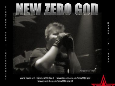 Mike Pougounas of New Zero God