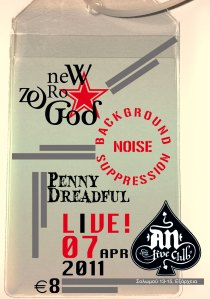 New Zero God with Background Noise Suppression and Penny Dreadful, Live at AN CLUB, April 7, 2011