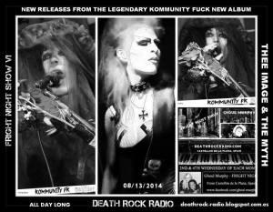 tribe4mian - Kommunity FK - Deathrock Radio
