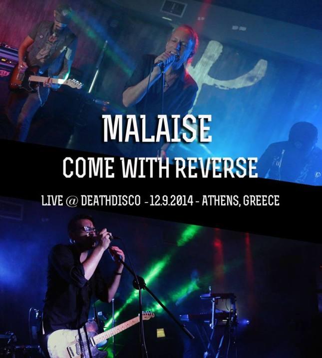 malaise live @ Deathdisco 12.9.2014