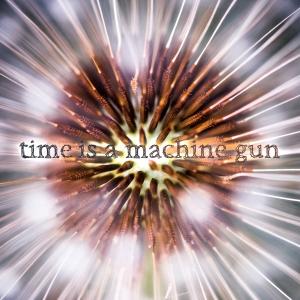 A Shoreline Dream - Time is a Machine Gun (cover artwork)