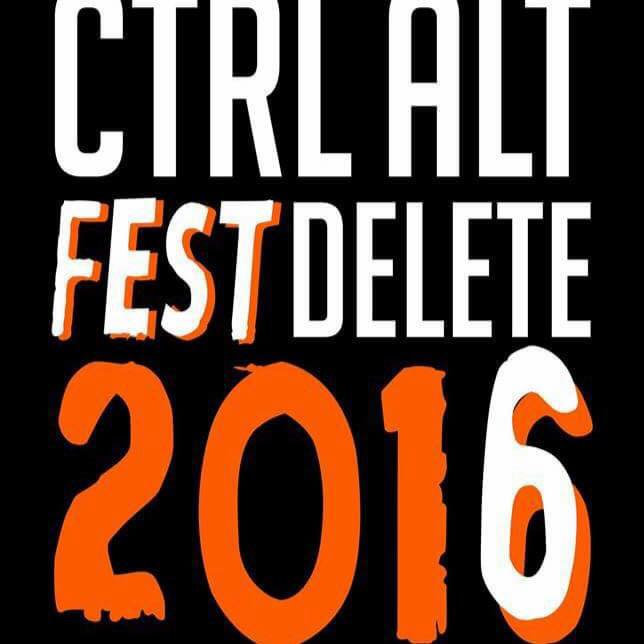 Ctrl Alt Fest Delete 2016 - Icon (2016-0825)